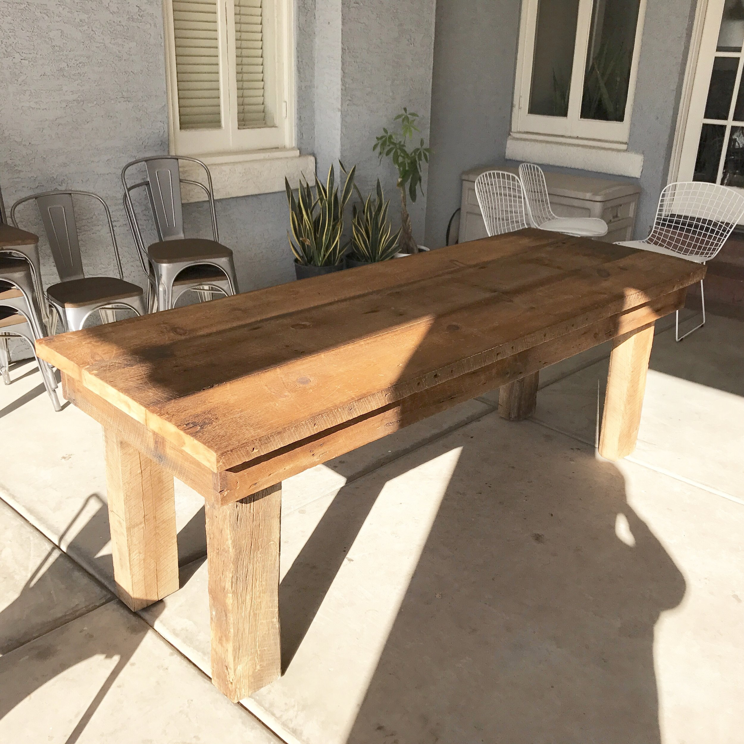 Ivan Dining Table Reclaimed Wood
