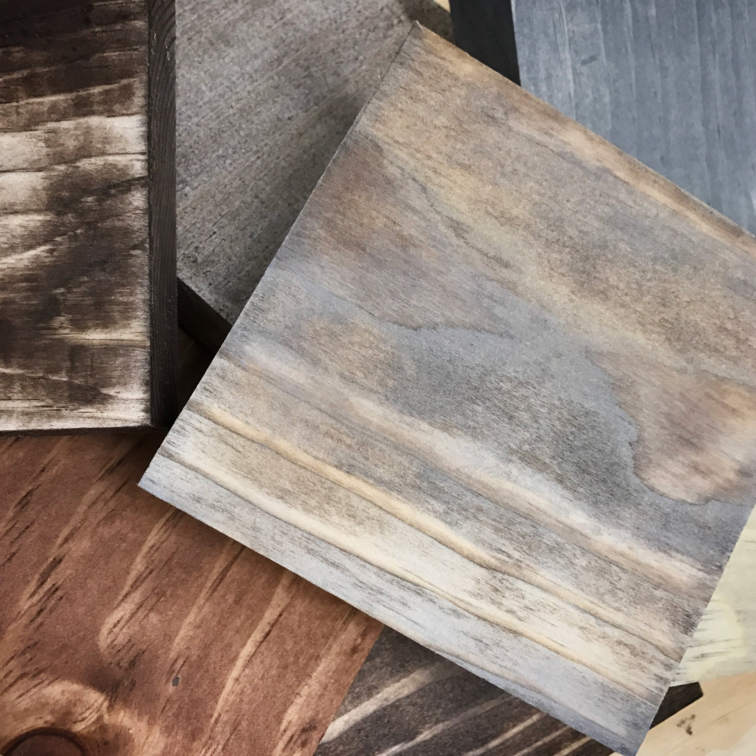 Custom Wood Finishes