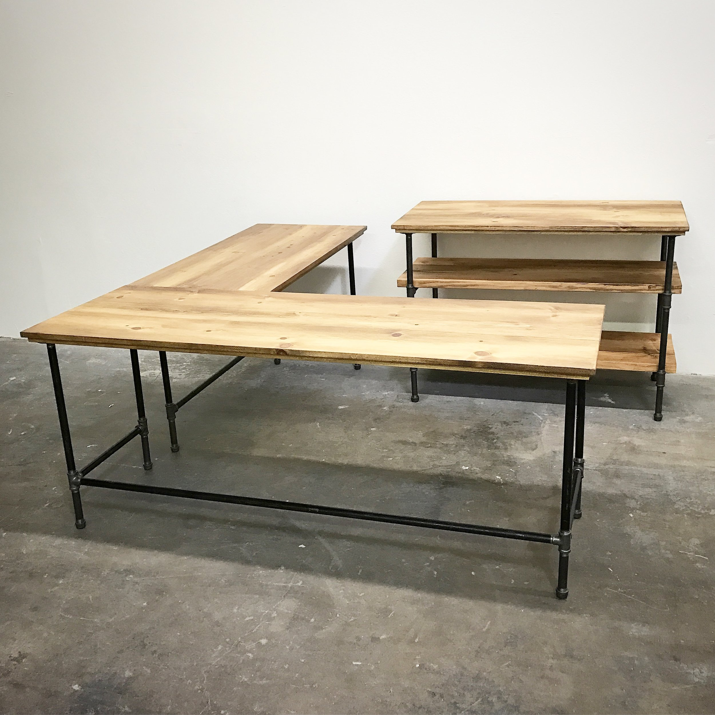 Wayne Corner Desk and Office Storage