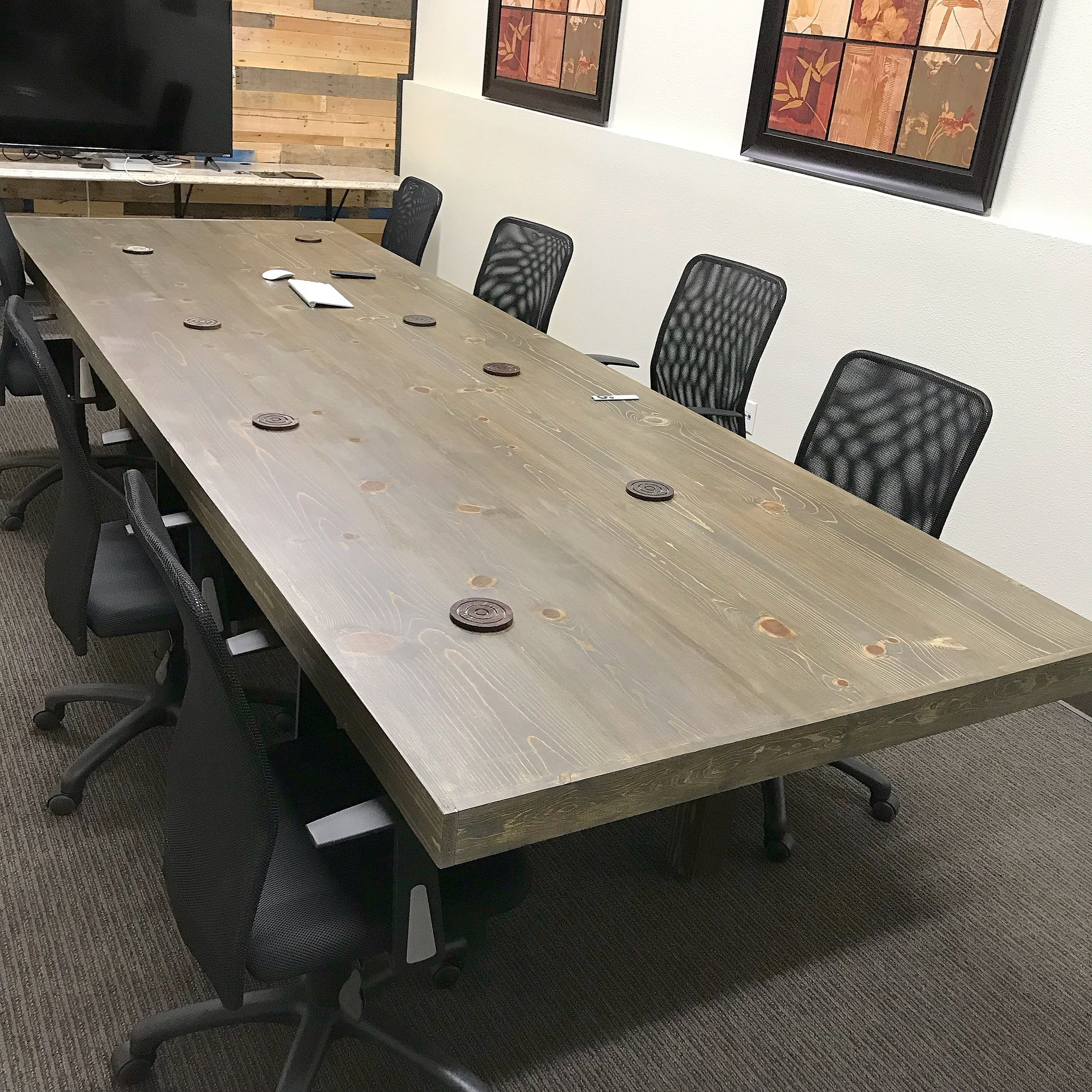"Wayne Conference Table with 3"" Trim"