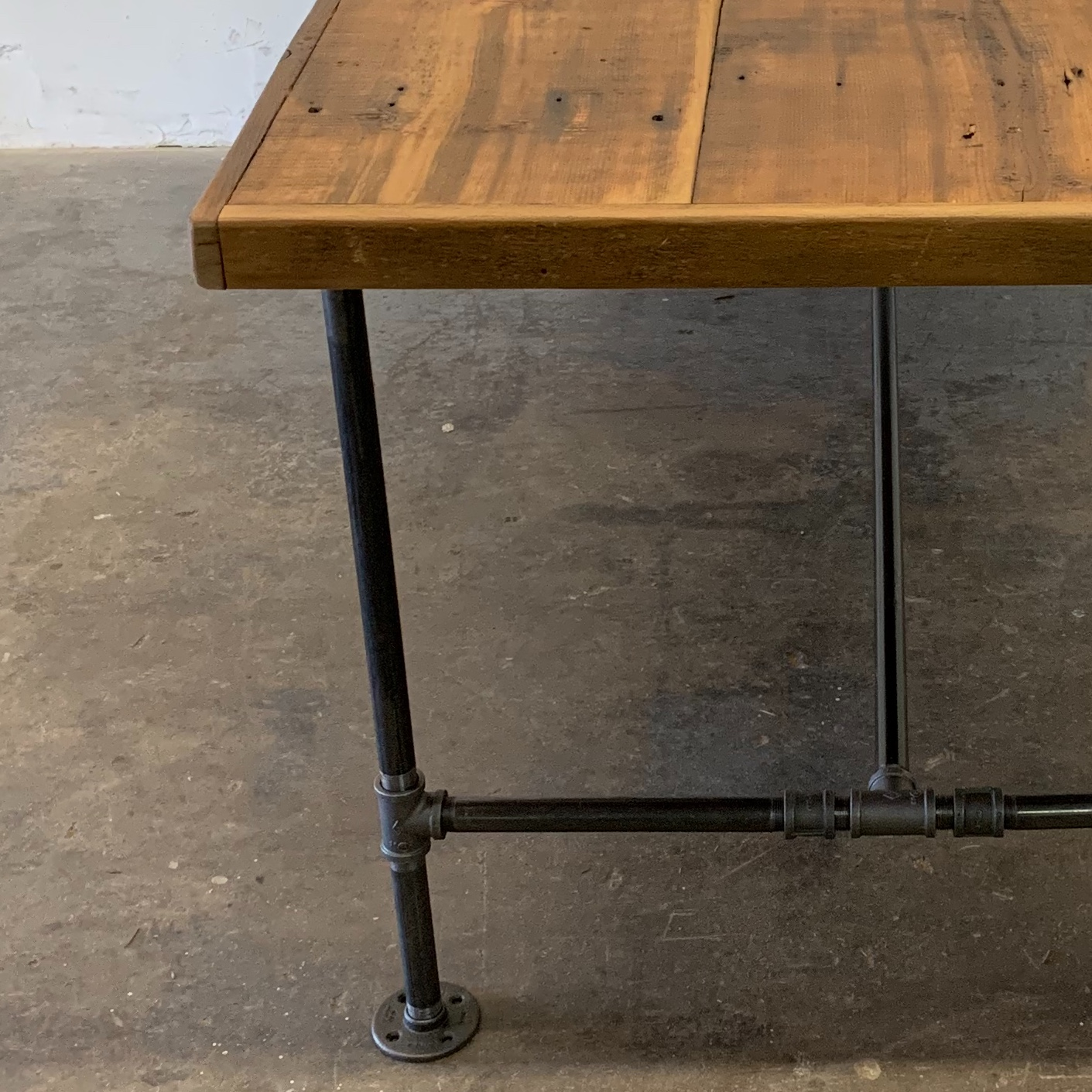 Albert Reclaimed Wood Dining Table 84""