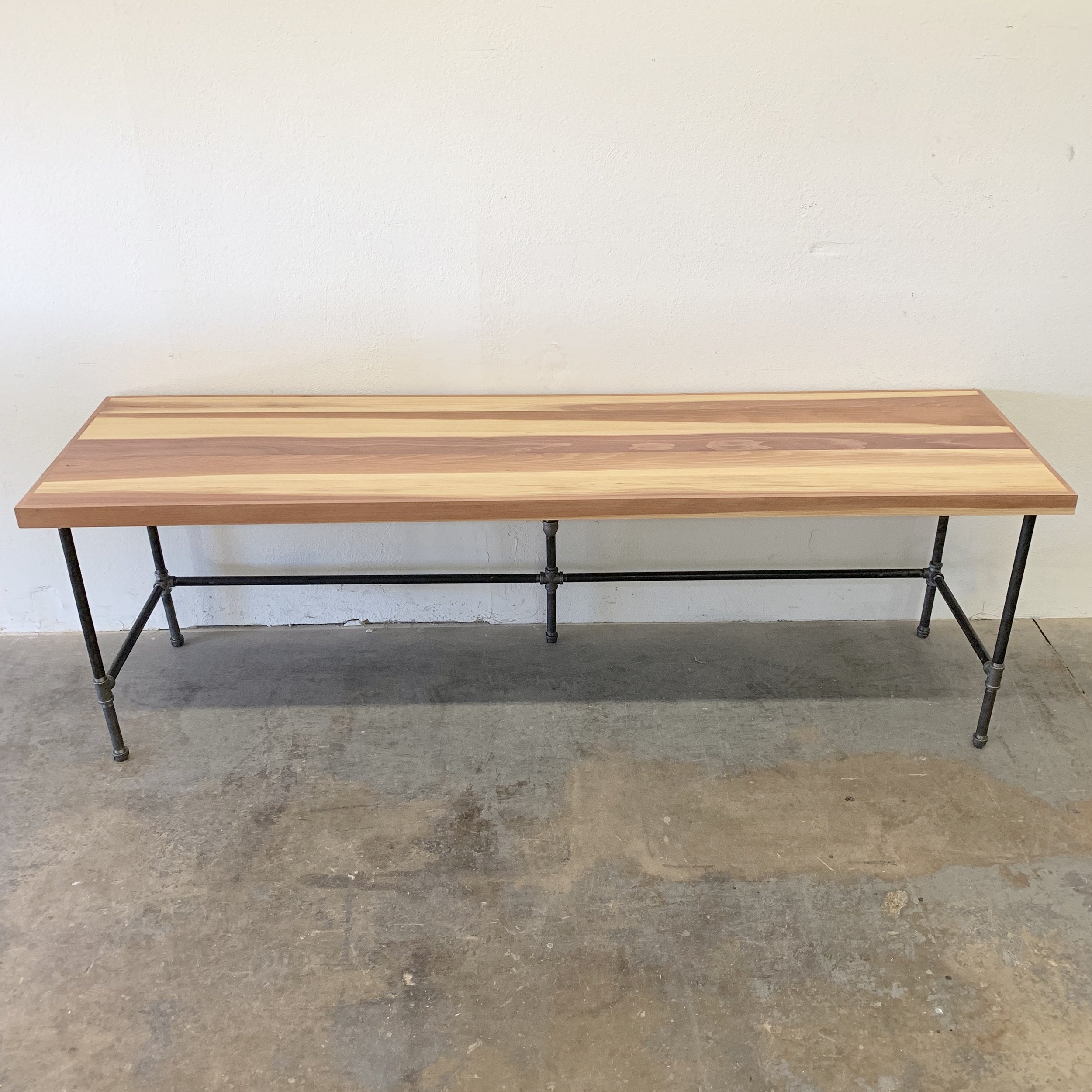 "Russell Redwood Desk 96"" with 2"" Trim"