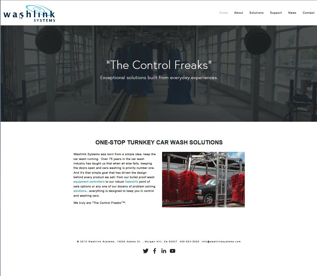 New website....