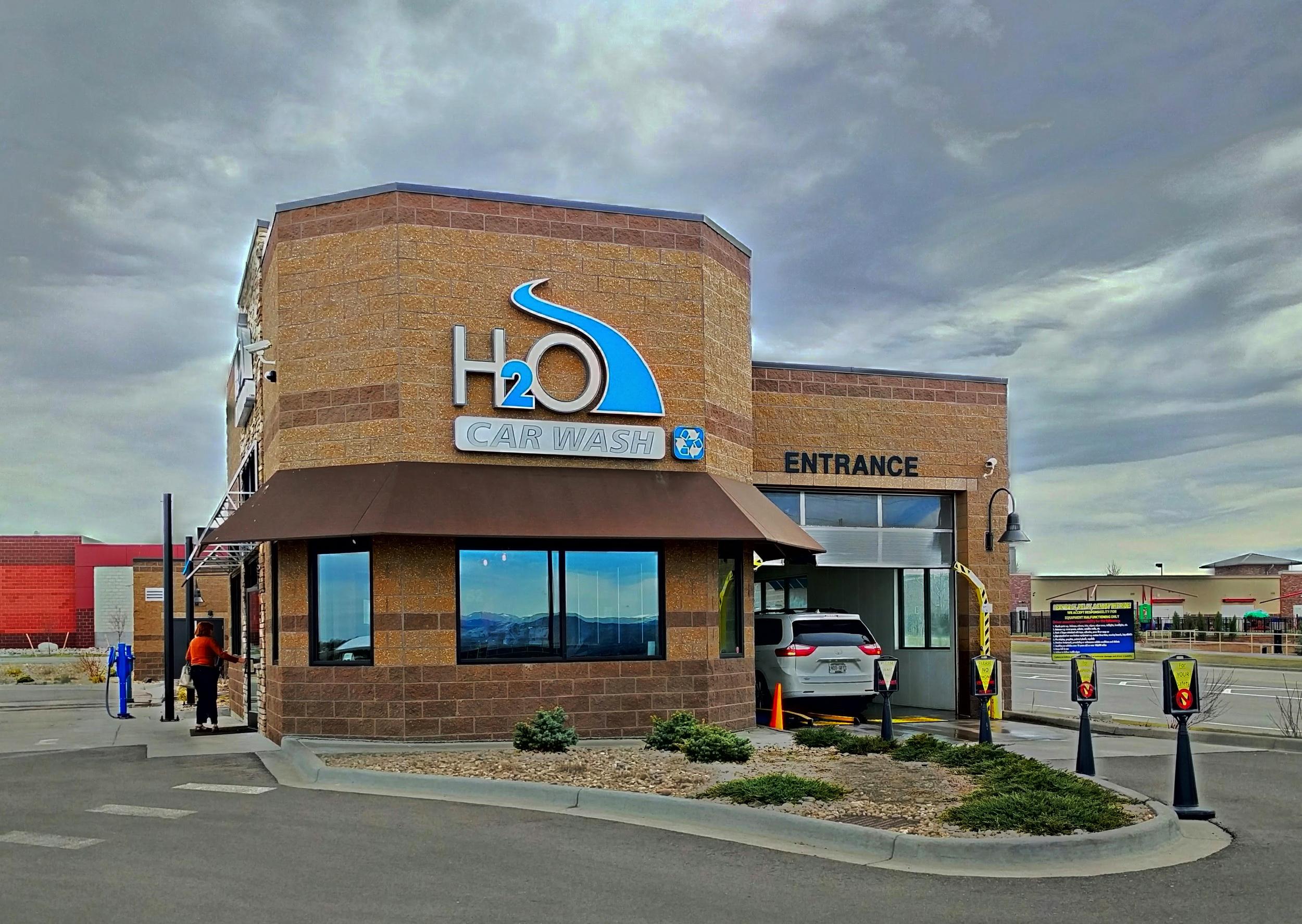 H20 Carwash in Highland Ranch, CO.
