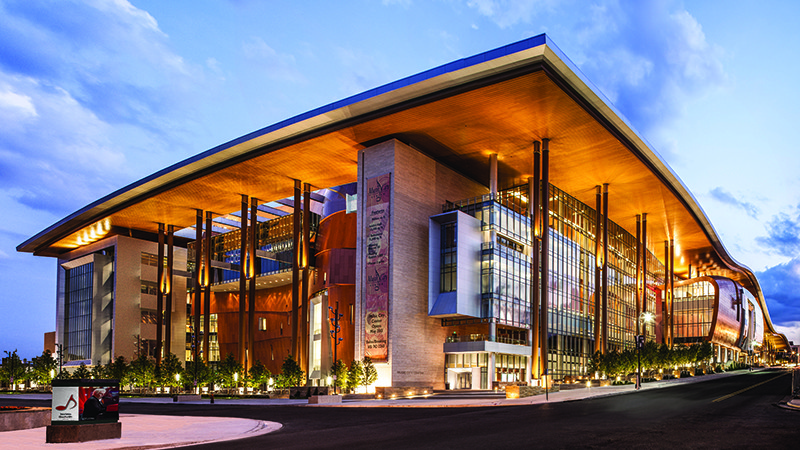 Music City convention center, Nashville TN might be one of the most beautiful of all the ICA car wash convention locations we've traveled to.