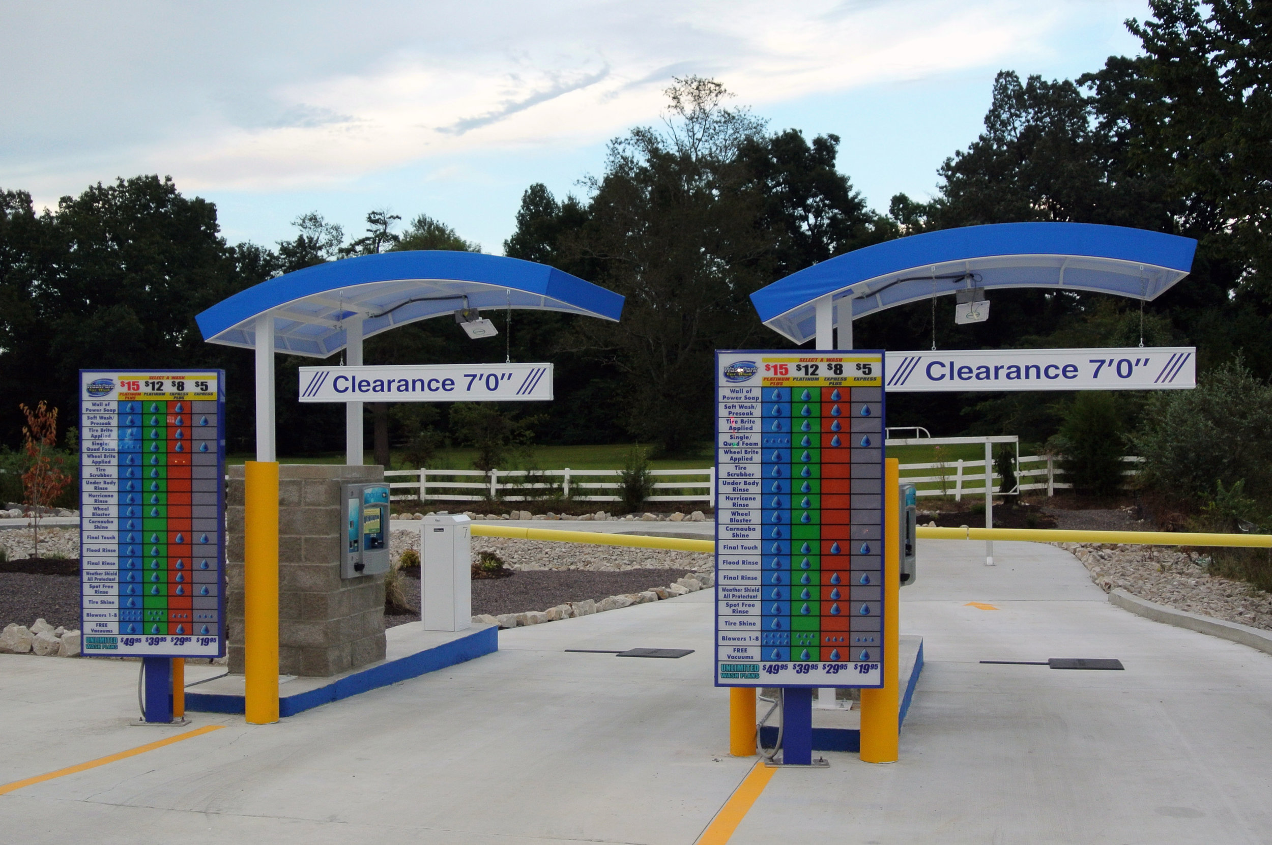 Wash Park pay stations