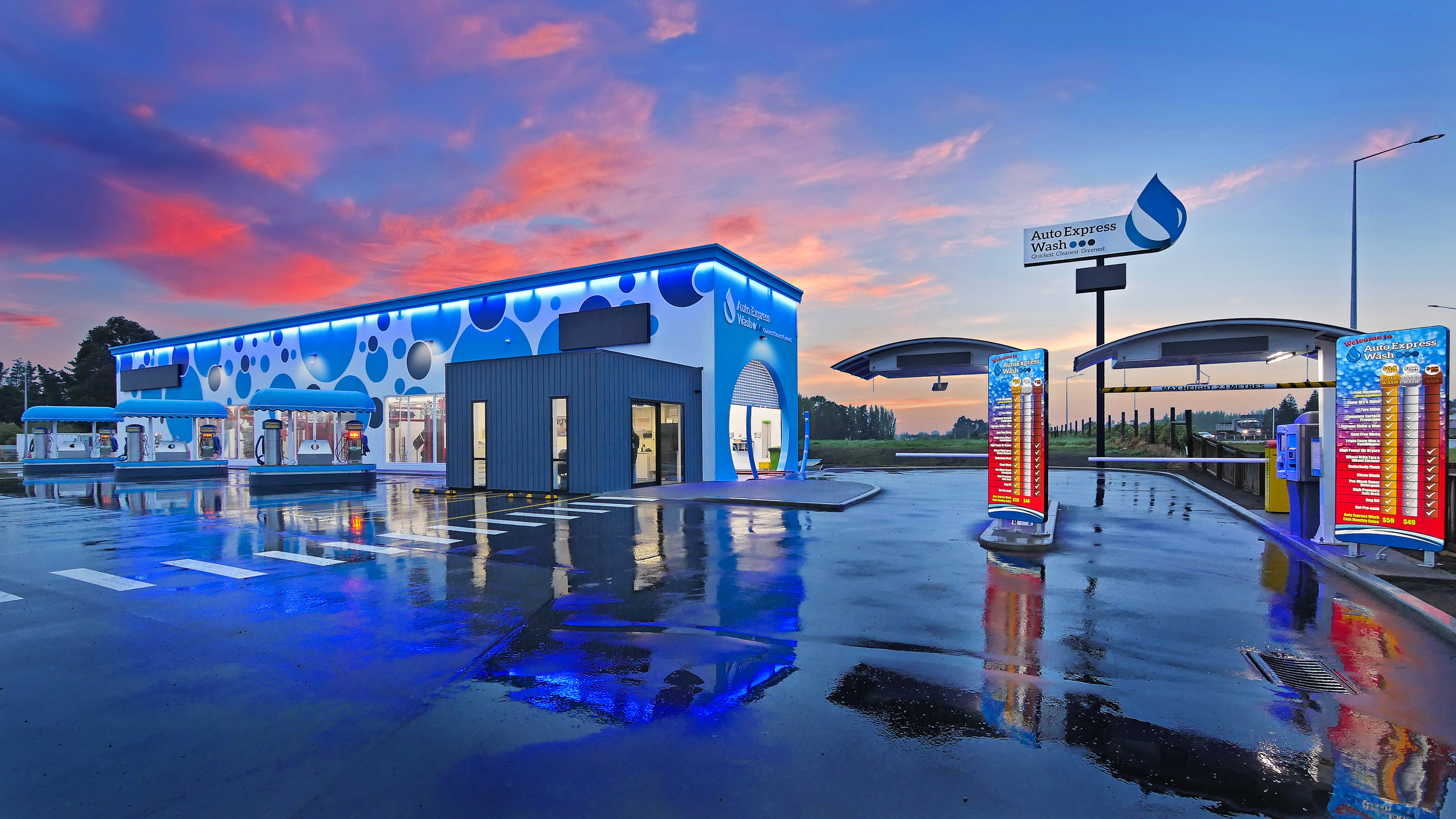 Auto express car wash New Zealand