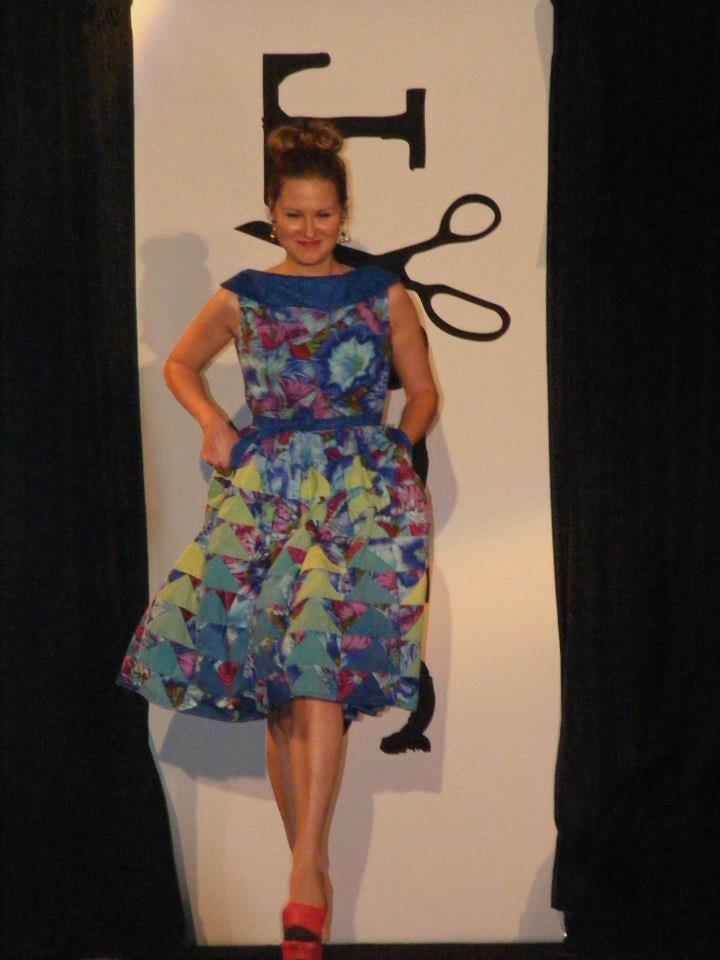 blue flying geese dress front.jpg