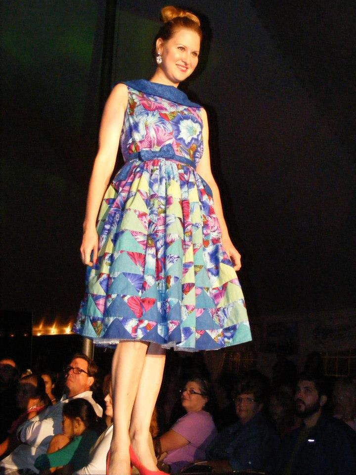blue flying geese dress.jpg