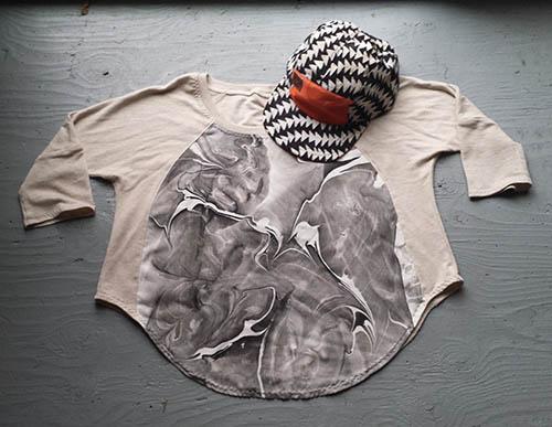Marbled Silk Top - Black Lightening.jpg