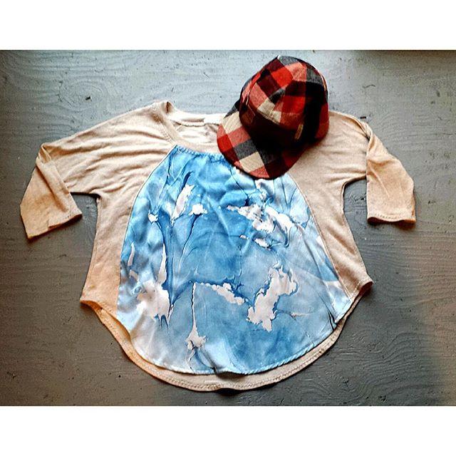 Marbled Silk Top - Blue Swirl.jpg