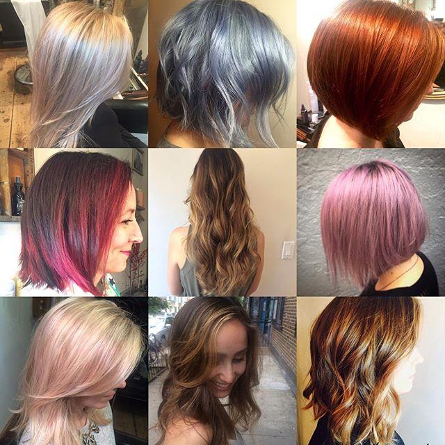 Hair by @julie_twigs_salon. Online booking via Schedulicity.