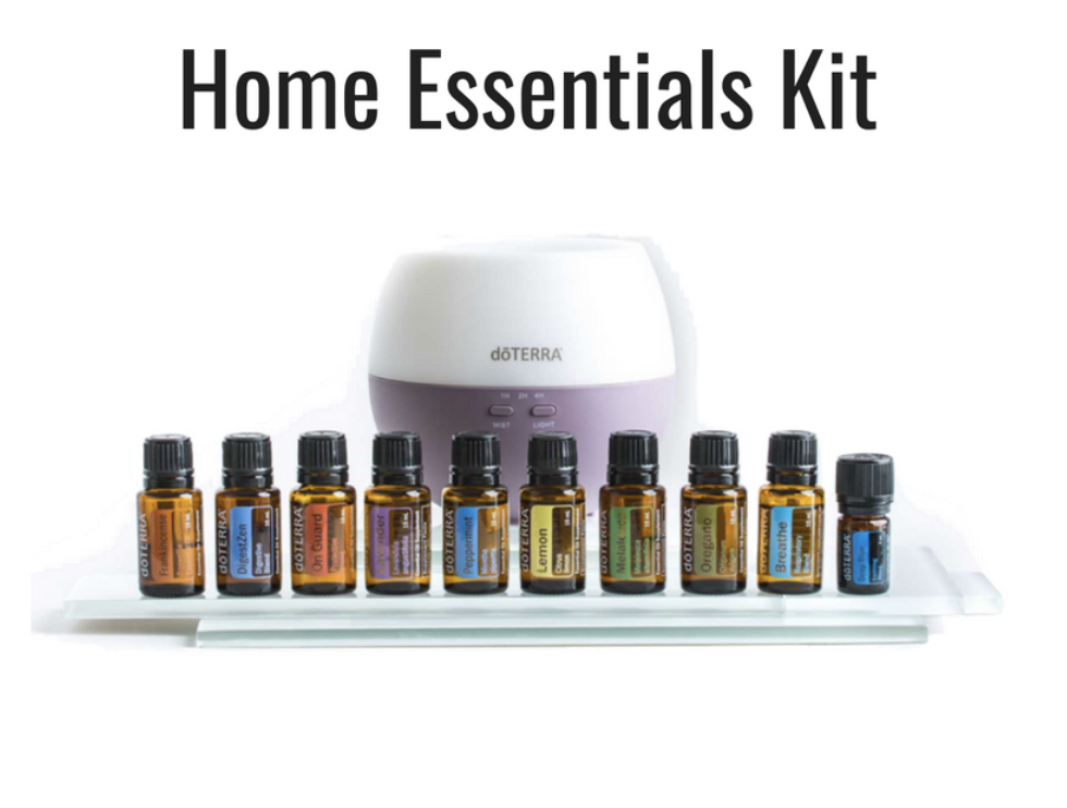 Wholesale: $330 CAD/$275 USD   (Most Popular!)   Frankincense, Lavender, Lemon, Melaleuca, Oregano, Peppermint, Breathe, Deep Blue (5mL), DigestZen, OnGuard  Also included: Petal Diffuser, dōTERRA Essentials Booklet