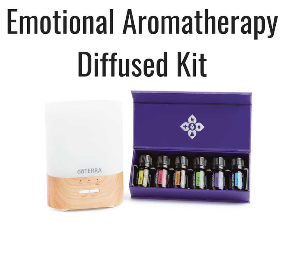 Wholesale: $210 CAD/$180 USD  Lumo Diffuser  doTERRA Emotional Aromatherapy™ System: (5 mL Bottles) Motivate, Cheer, Passion, Forgive, Console, Peace  The doTERRA Essentials Booklet