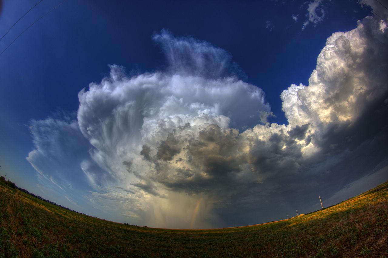Thunder Cloud Rainbow By David DeHetre from Lawrence, KS, USA,United States
