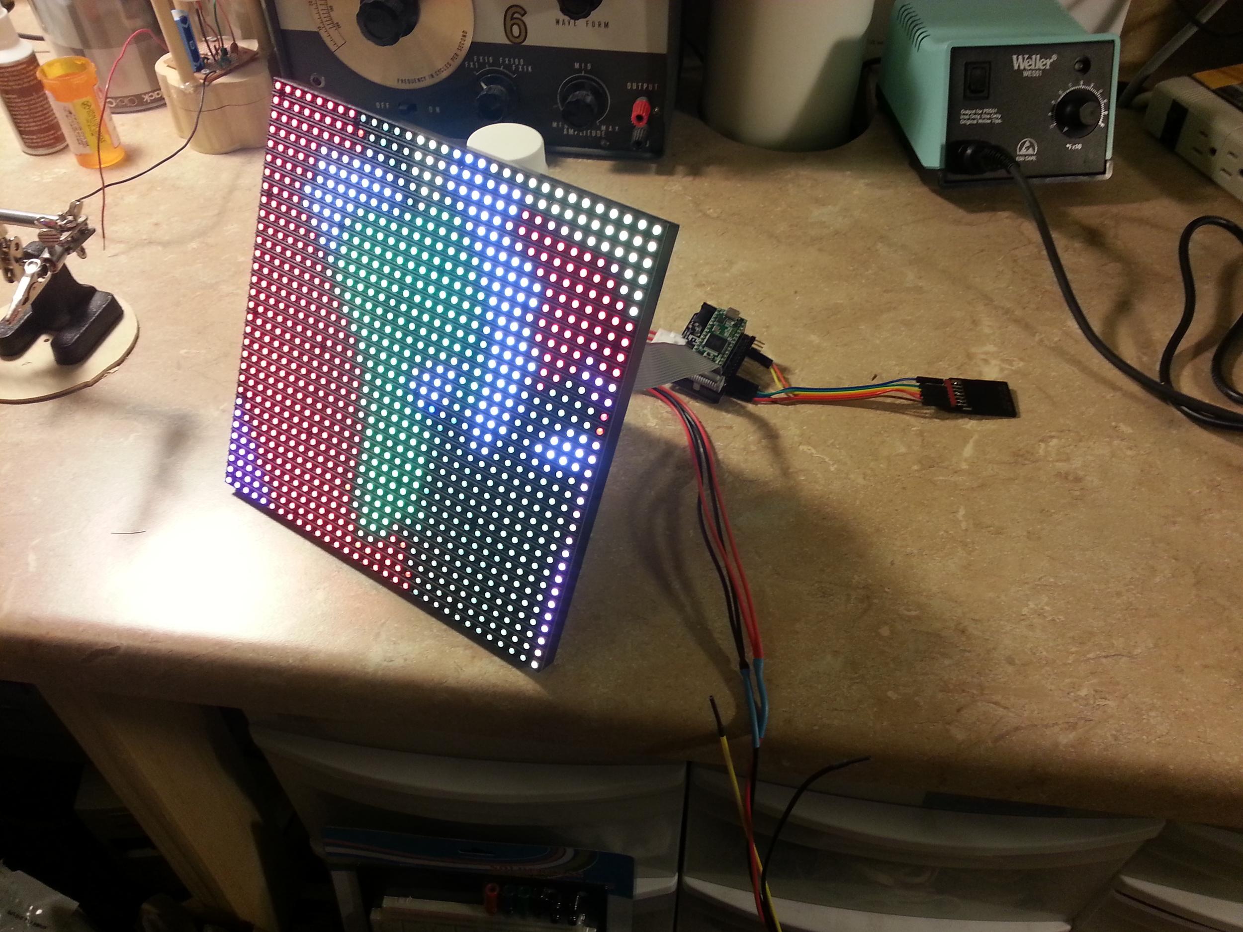 Animated RGB LEF Panel