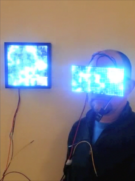 Synchronized Art & Viewing Goggles