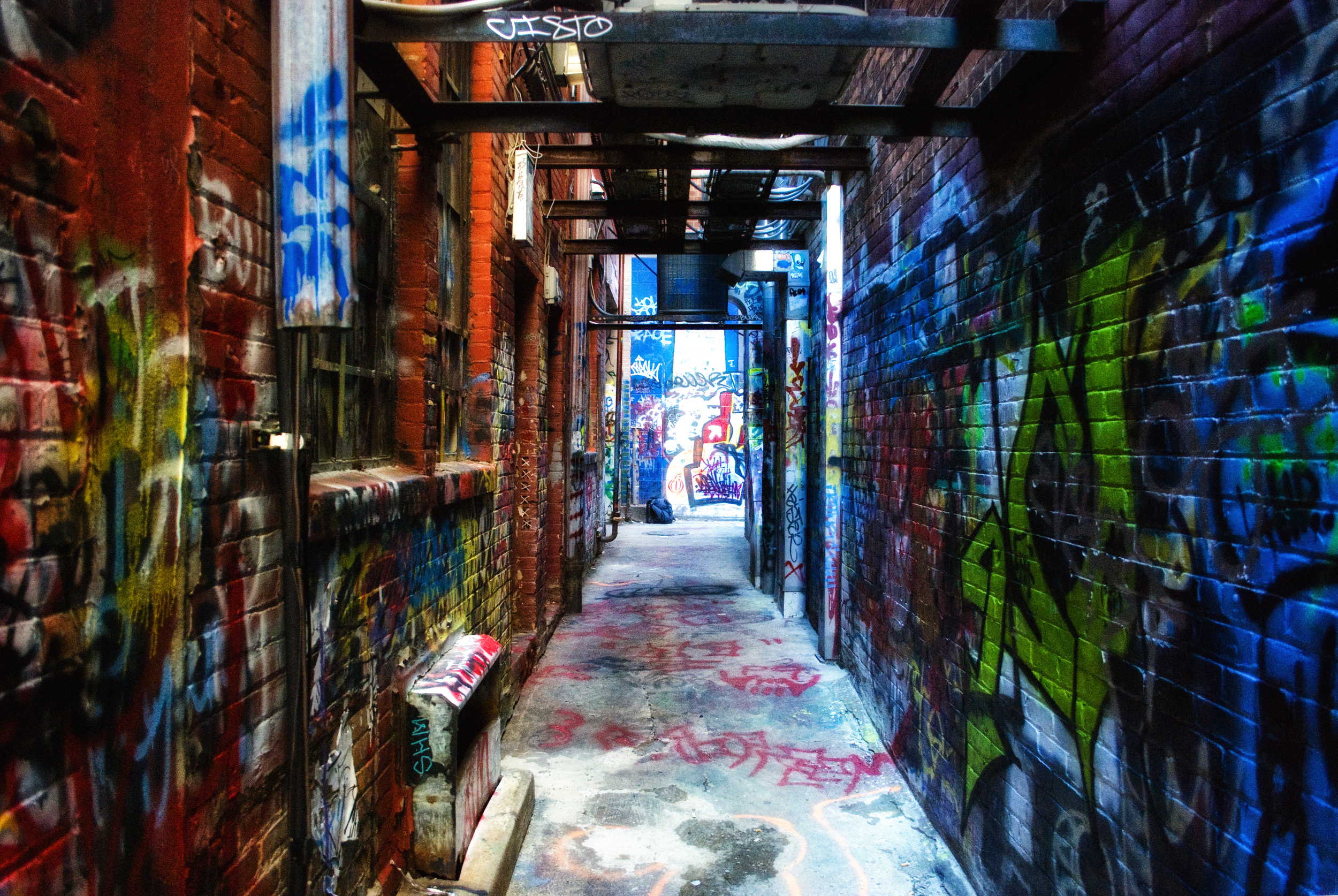 Graffiti Alley Ann Arbor