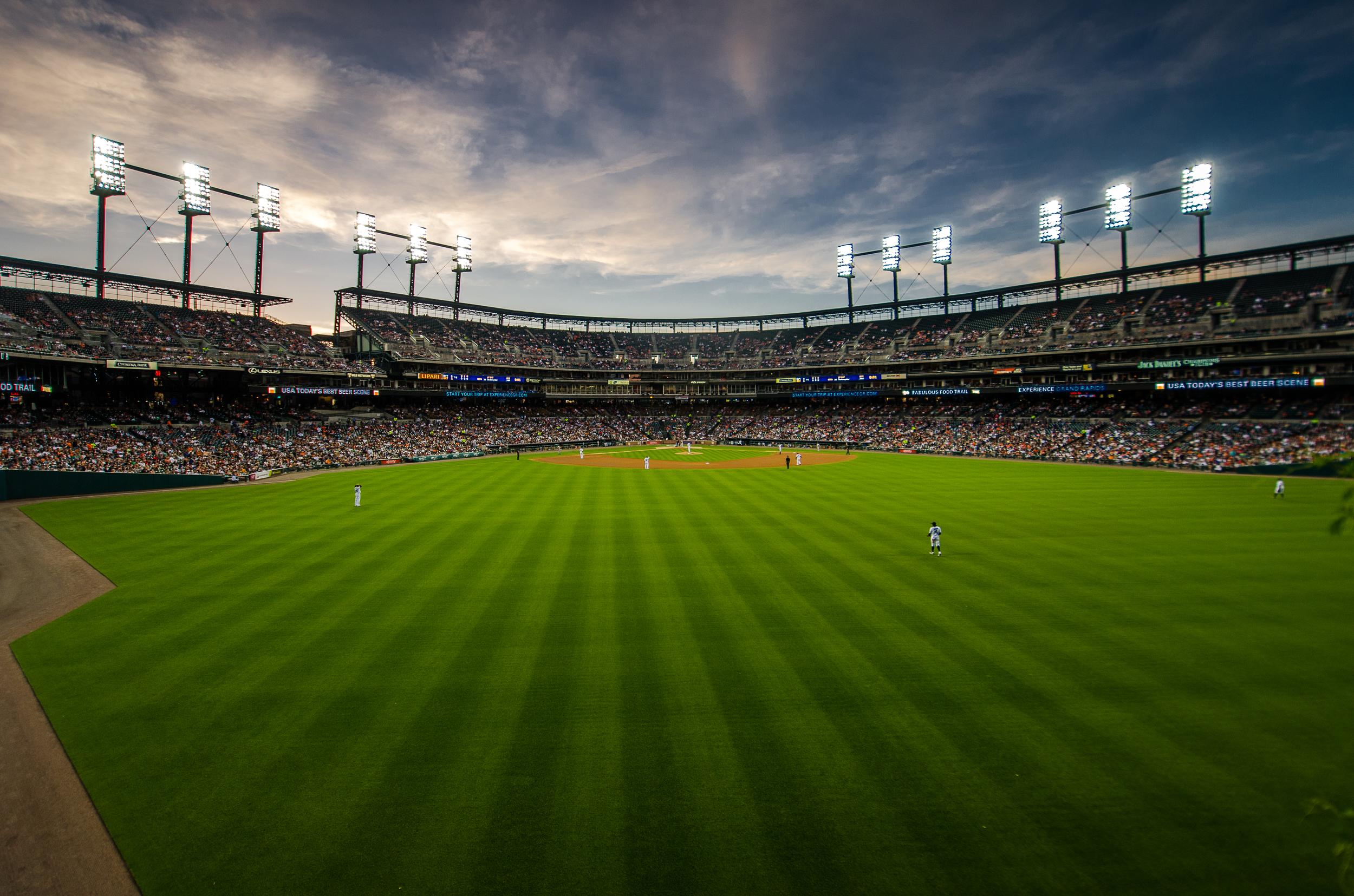 Comerica Park Center Field
