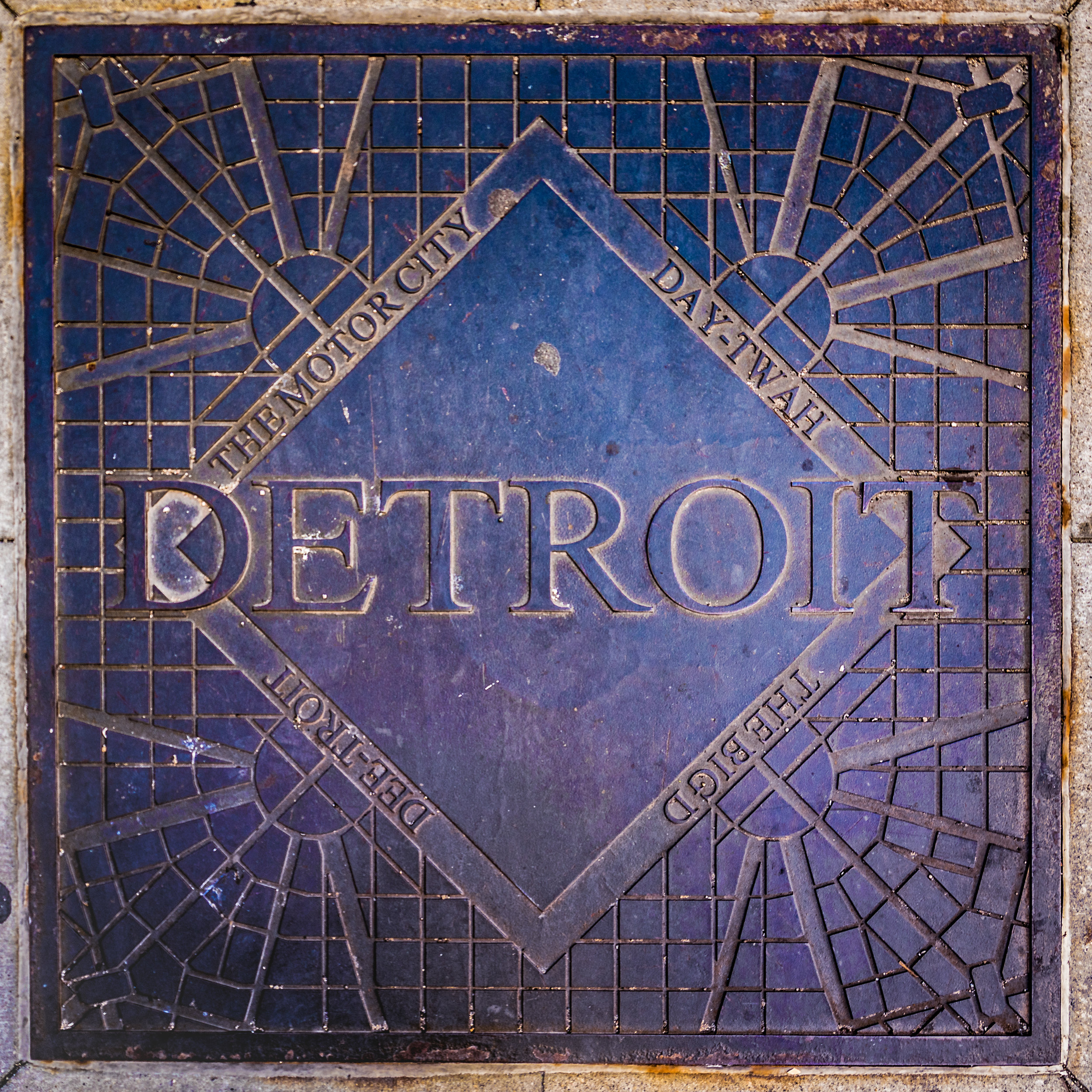 Detroit Sidewalk