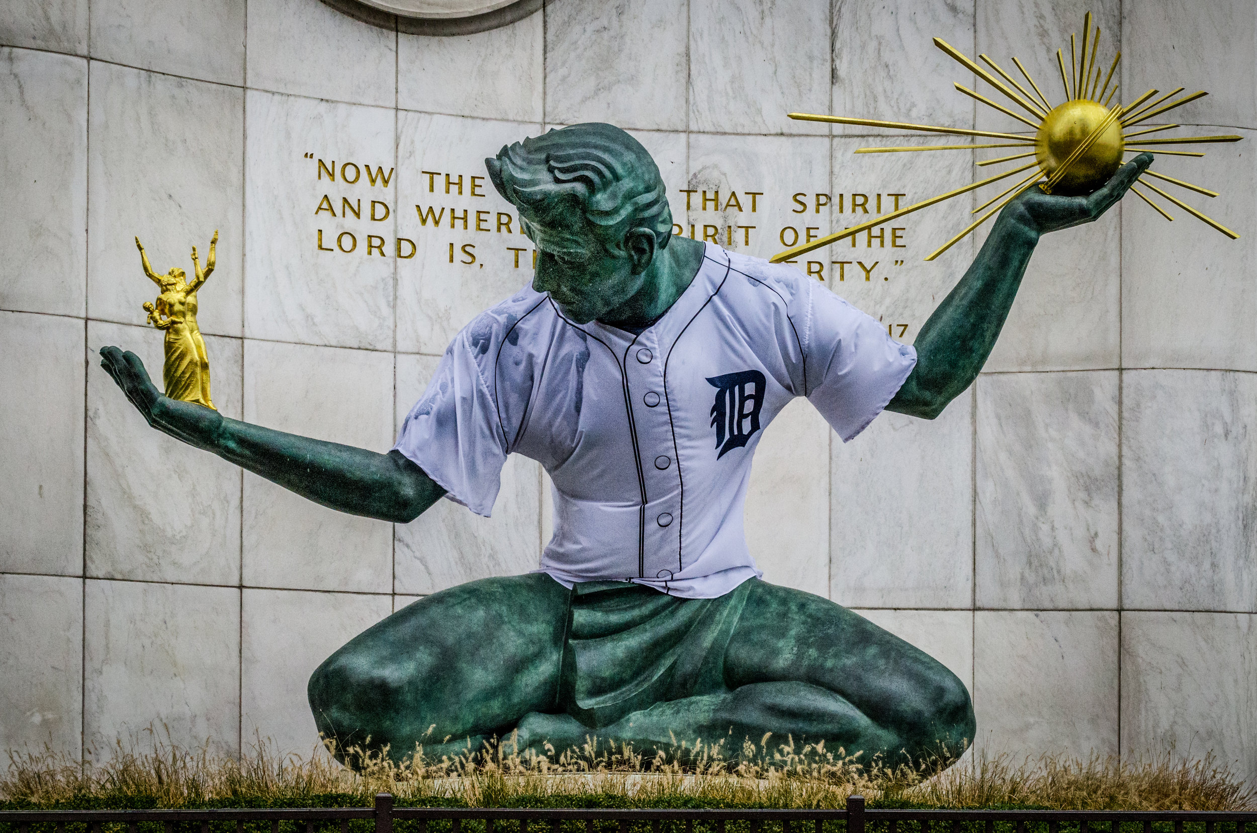 Tigers Spirit of Detroit
