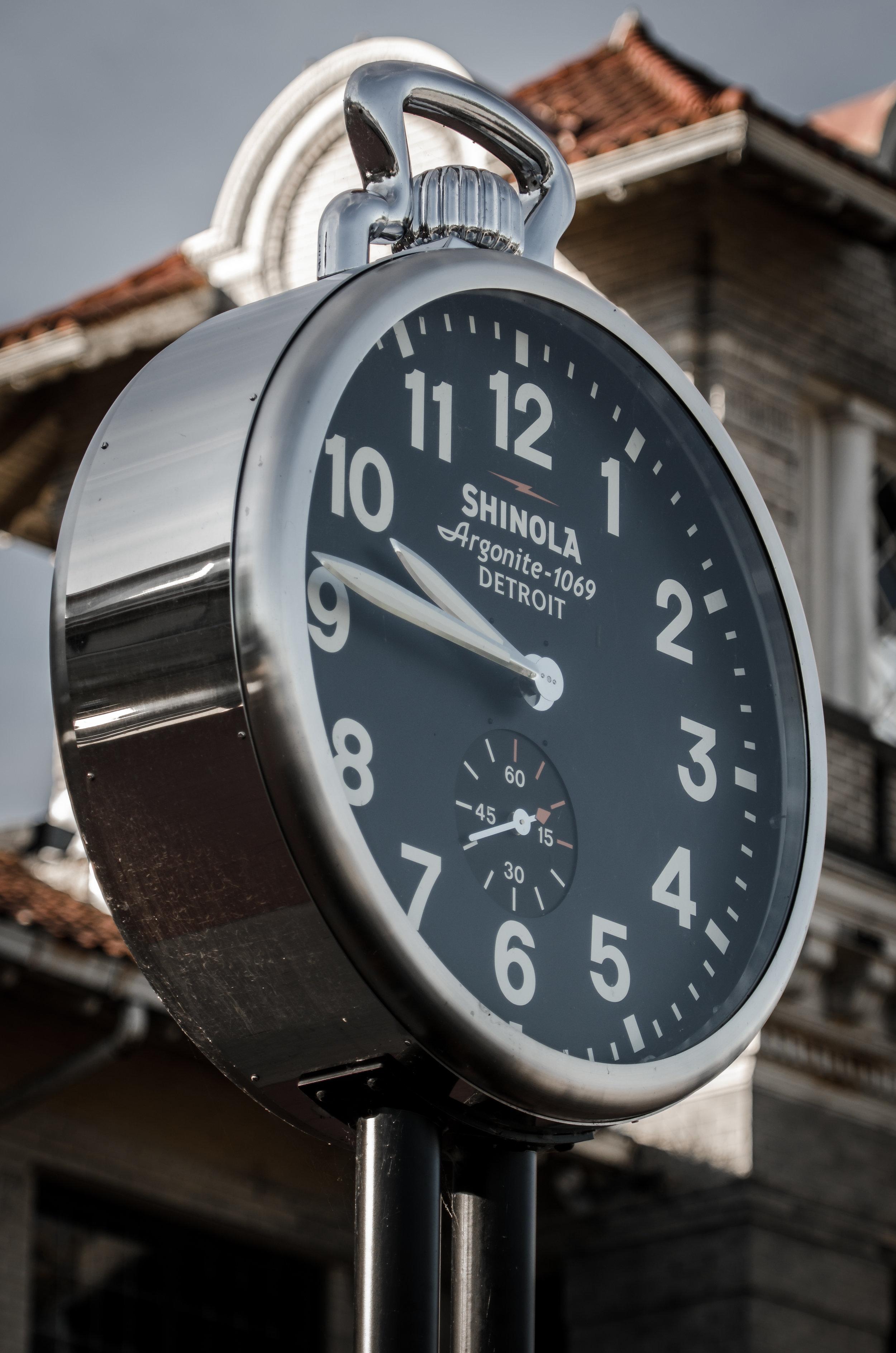 Shinola Clock Belle Isle