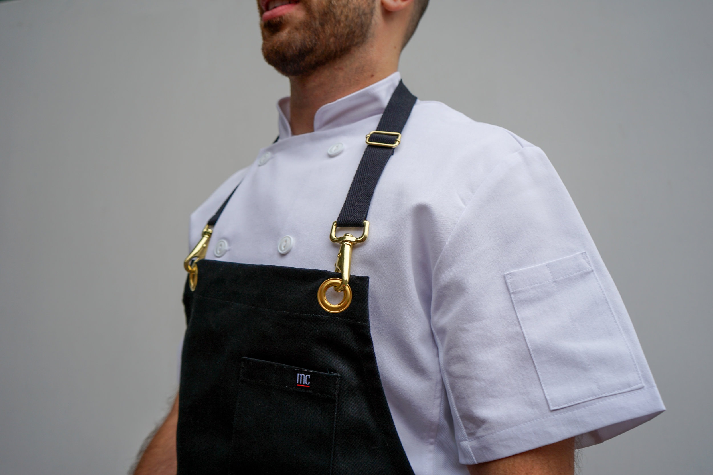 Enkrypt Apron 2.0 - Need some more gold in your life?Rugged fabric built to last, with a bit of accent.
