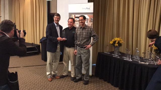 ETO awards, Springfield Oregon, Willamette Valley, Energy Trust of Oregon, Awards, Winner