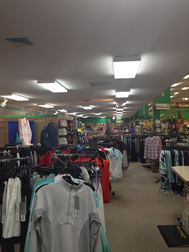 Commercial Lighting for Retail Store