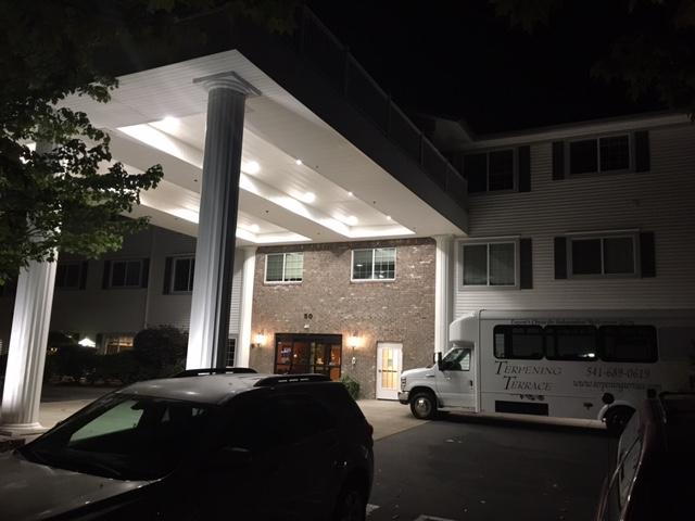 Commercial exterior lighting for Senior Care Communities & Facilities