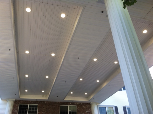 LED Retrofit Lighting, External Canopy Lighting