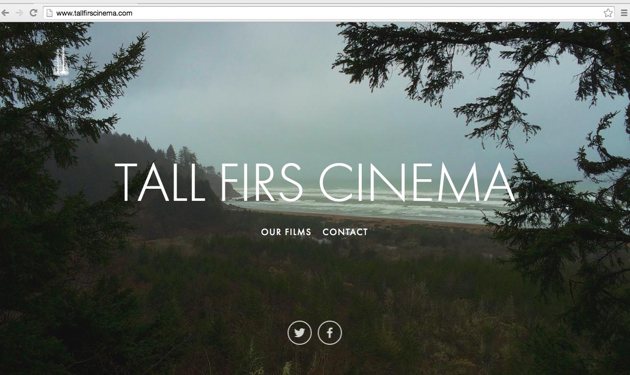 Created for our film company, Tall Firs Cinema.  http://tallfirscinema.com