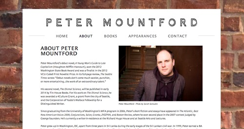 Created for author, Peter Mountford.  http://petermountford.com