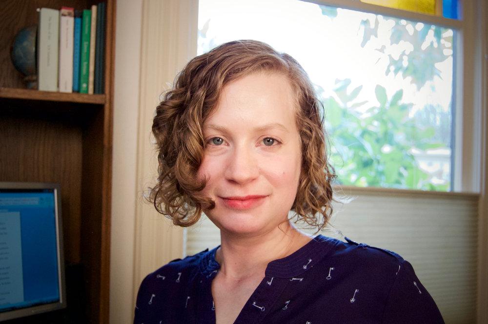 Headshot of author Anca Szilágyi