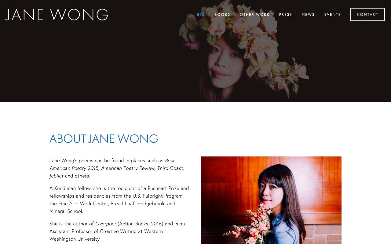 Illustration & website created for Jane Wong:  http://janewongwriter.com