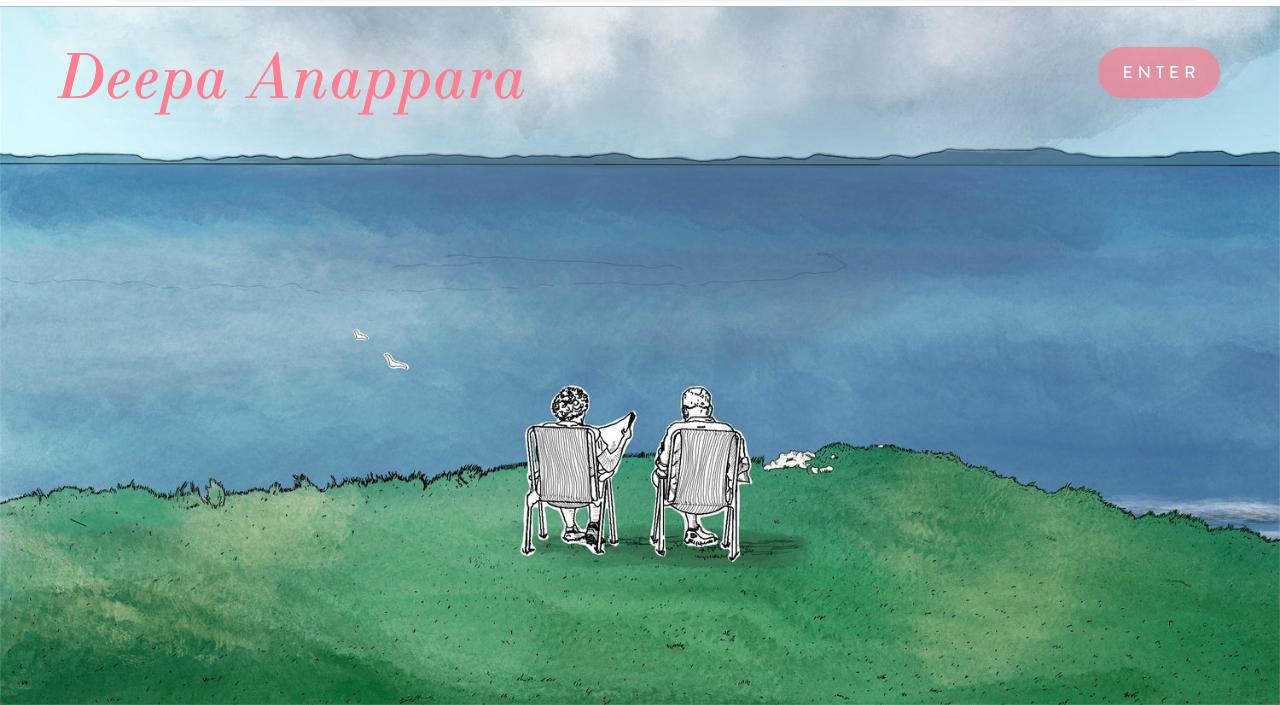 Illustration and side for Deepa Anappara:  deepa-anappara.com/