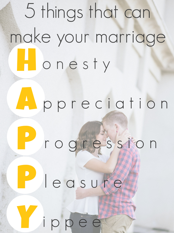 HAPPY Acronym That Might Help Your Marriage