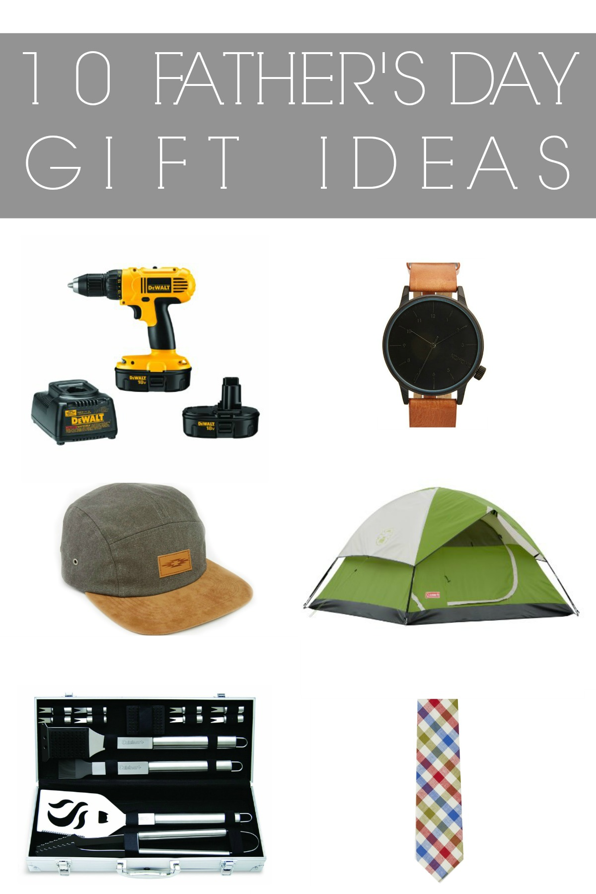 Father's Day Gift Ideas || A Dash of Salter