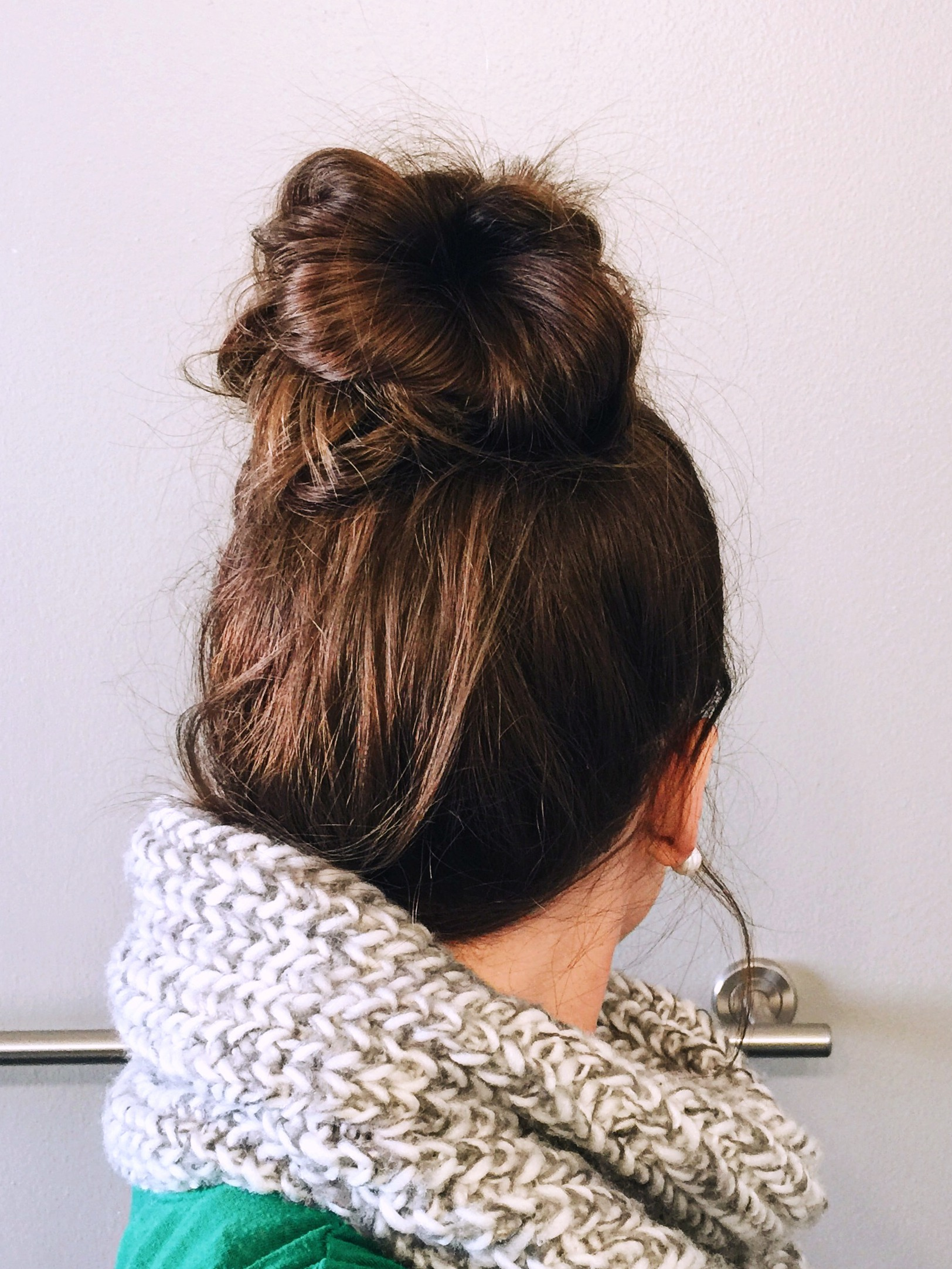 Holiday Hair Series    Messy Top Knot    Episode 2    Video Tutorial