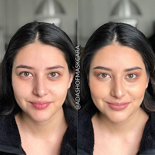 Love the subtle transformation on the gorgeous girl! 😍😍 She's dreamy before and after! This makeup provides coverage where you need it, but still gives that natural glow finish!!! CANT STOP WONT STOP. 💀 . . . #adashofsalter #blog #beautyblogger #beautyinspiration ##makeup #makeupartist #makeupaddict #makeuplover #makeupjunkie #makeuptutorial #makeupforever #makeupbyme #makeupoftheday #makeuplook #makeupart #makeupblogger #makeuplove #maskcarabeauty #maskcaraartist #maskcaramakeup #creammakeup #minimalmakeup #custompalette #makeovermonday #versatilemakeup #beforeandafter #beautyqueen #beautycare #undiscovered_mua #undiscoveredmuas