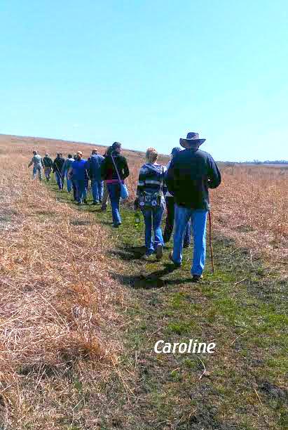 Prairie State Park hike