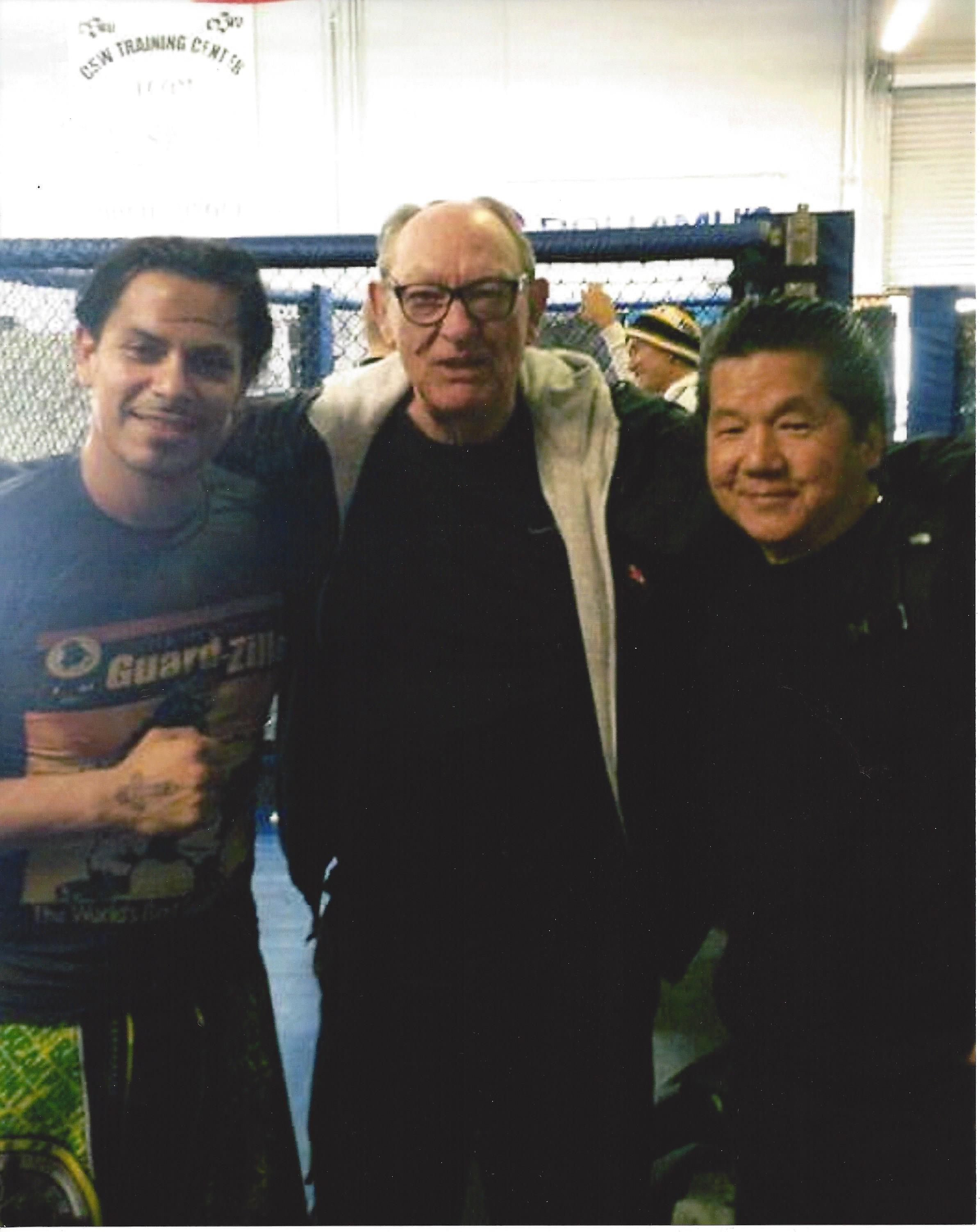 Sonny, Sifu Tim Tackett, Sifu Francis Fong