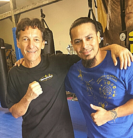 Savate Champion Nicolas Saignac and Sonny