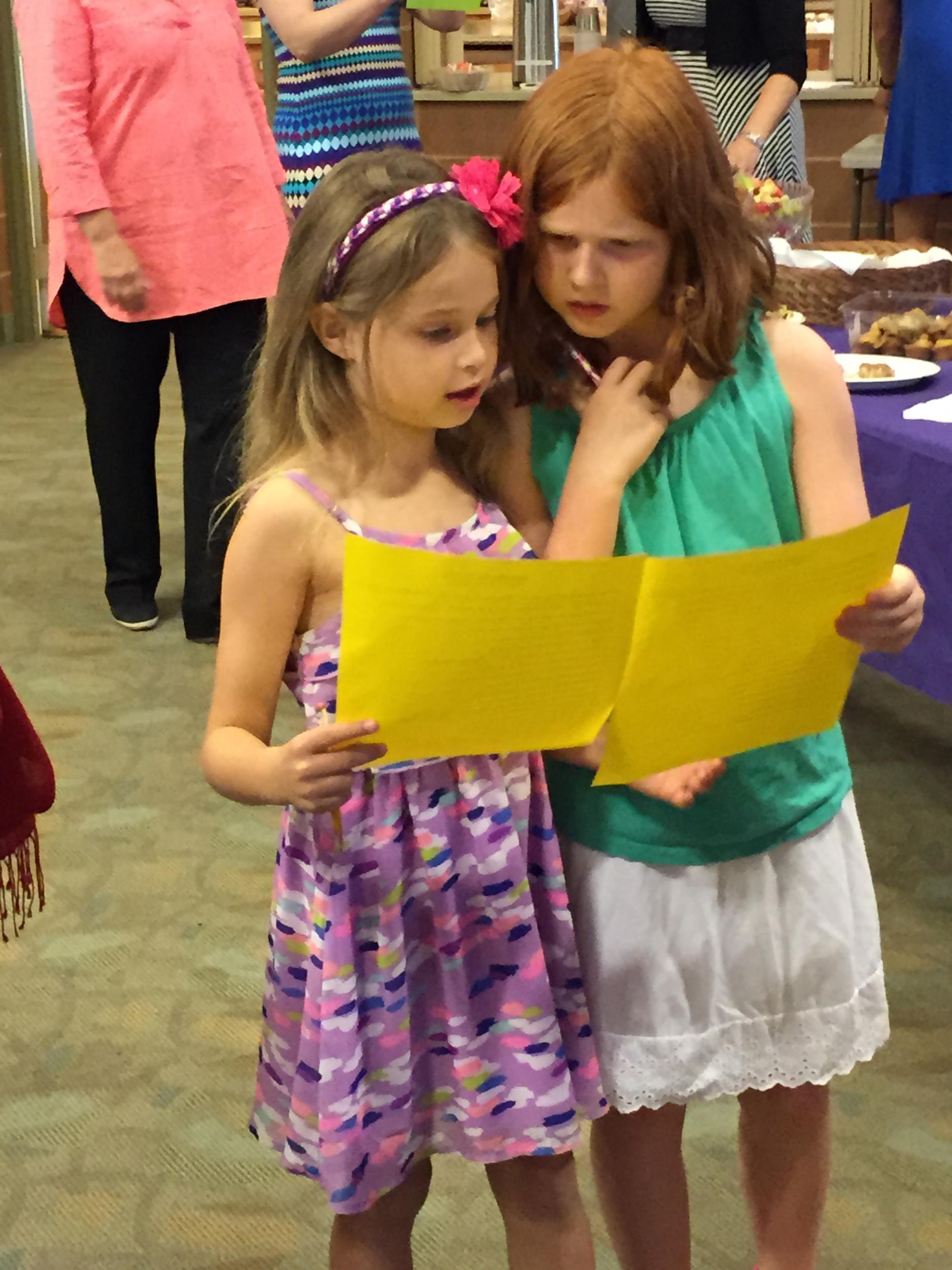 Scavenger Hunt at the Sunday School Celebration