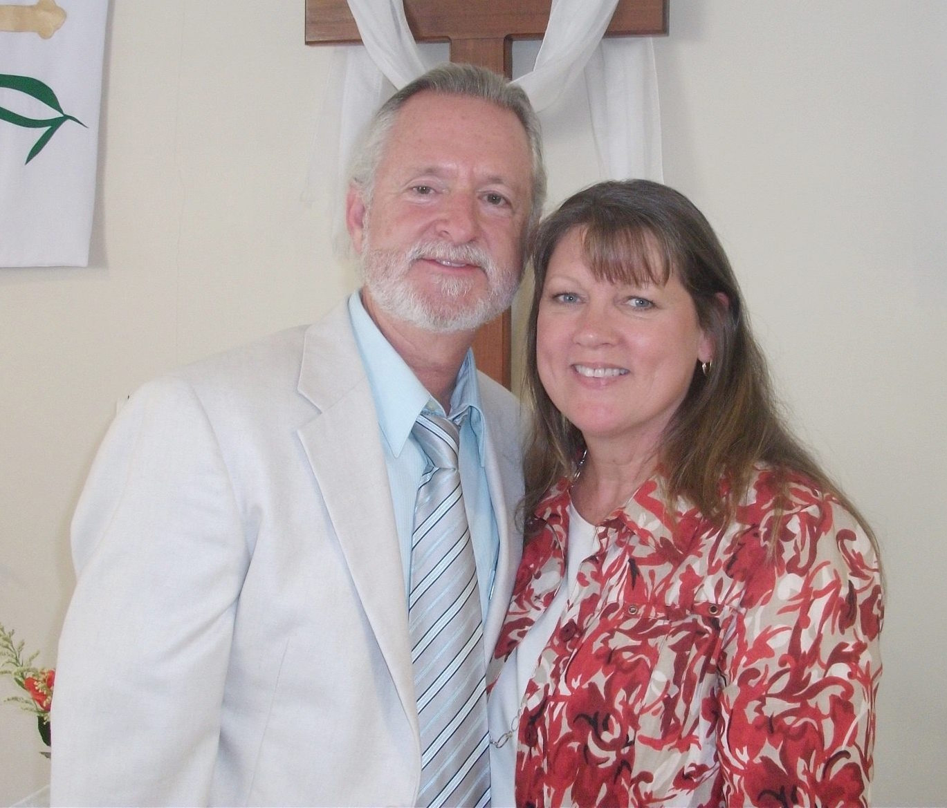 Dan Godwin and his wife Lisa serve through the United Methodist Church Missions Organization in Ecuador. This picture of them was taken at the International Christian Community in Cuenca, Ecuador to learn more,  click here  to read his missionary profile.
