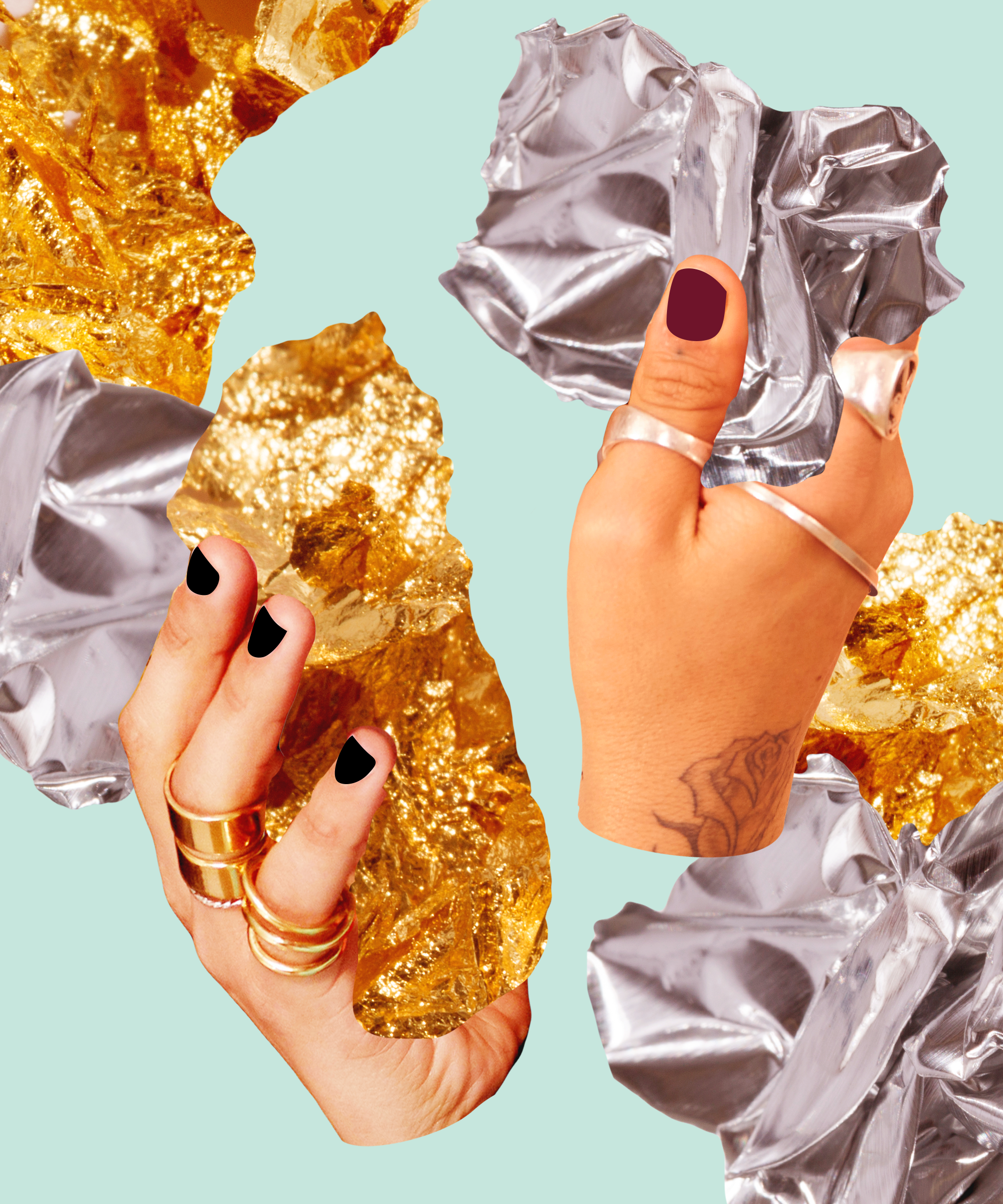 What Your Choice of Silver or Gold Jewelry Says About You