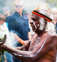 10.00am -Smoking Ceremony front playground - We are proud to have Uncle Max Eulo to welcome people onto our land on behalf of the Gadigal tribe. Uncle Max's Smoke Ceremony will cleanse the land and the people around us. Many thanks to The Surry Hills Neighbourhood Centre for arranging.