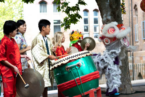10.30am - Chinese Lion Dancing top playground - Chinese lion dancing and music to celebrate our wonderful Chinese school community