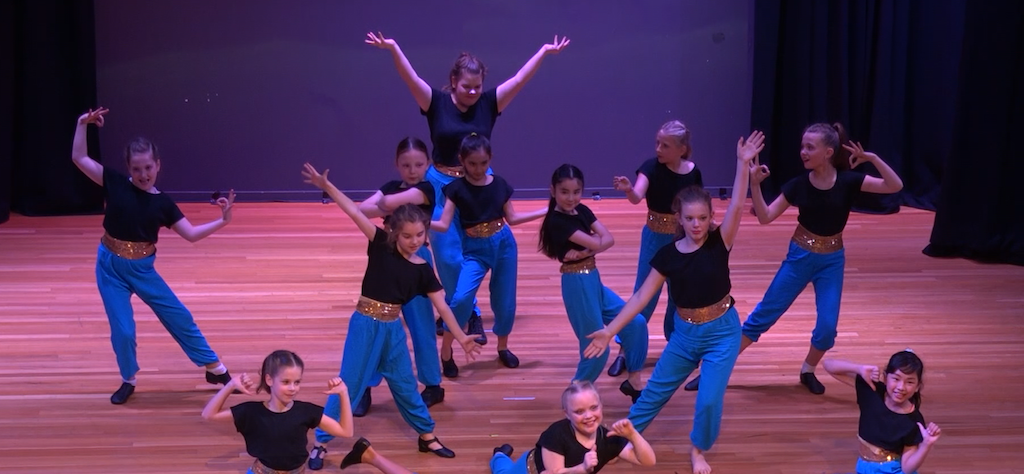 12.00 - DZP Student Dance Performances on the school main stage - Our students will perform their jazz and hip hop routines