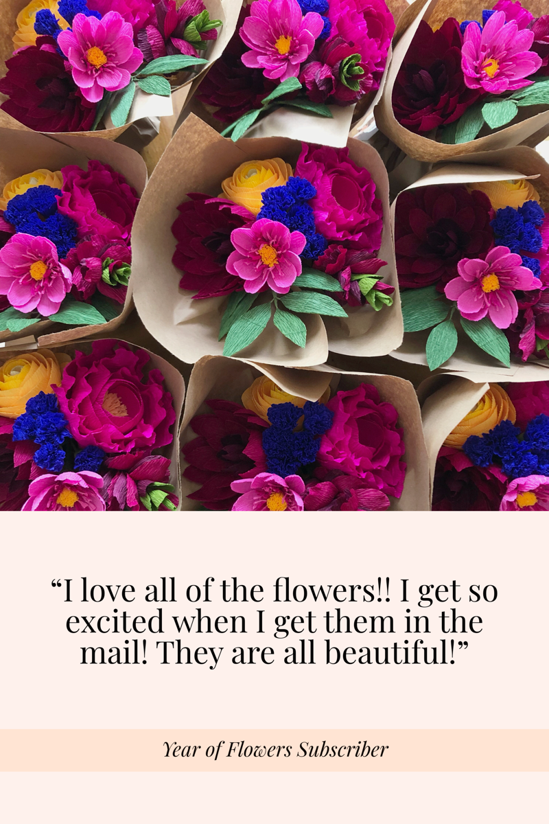 My Year of Flowers was a gift for my mom and she really enjoyed receiving them each quarter.I love that she loved them. (2).png